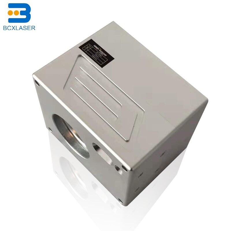 Хорошая цена 10 мм апертура волоконная лазерная головка сканирования/galvo головка для лазерной маркировочной машины