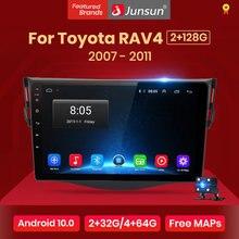 Junsun V1 Pro 4G + 64G Voor Toyota RAV4 Android 10.0 Rav4 2007-2011 Auto Radio Multimedia video Speler Navigatie Gps Rds 2 Din Dvd
