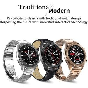 Image 2 - DT99 Smart Watch IP68 Waterproof Round HD Screen ECG Detection Changeable Dials Smartwatch Fitness Tracker Men