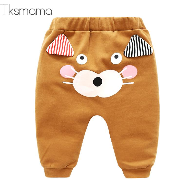 Spring Autumn New Style Cartoon Baby Girl Pants Baby Leggings Spring Baby Legging Newborn Baby Boy Pants