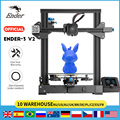 Ender-3 V2 3D принтер Slilent материнская плата TMC2208 UI и 4,3 дюймов Цвет ЖК карборунд Стекло кровать Creality принтера 3D