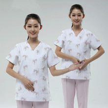 New hand-washing clothes women's short-sleeved suit doctor's overalls nurse's clothing