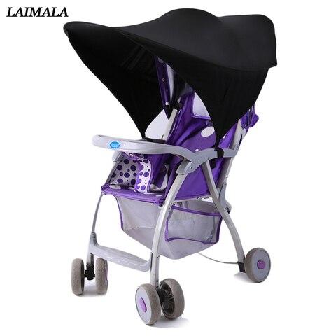 1 pc carrinho de bebe sol dossel