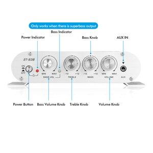 Image 3 - مضخم صوت Douk Audio Mini بـ 2.1 قناة, مضخم صوت ستيريو ، مضخم صوت للمنزل/السيارة/مكبر الصوت البحري لمكبرات الصوت
