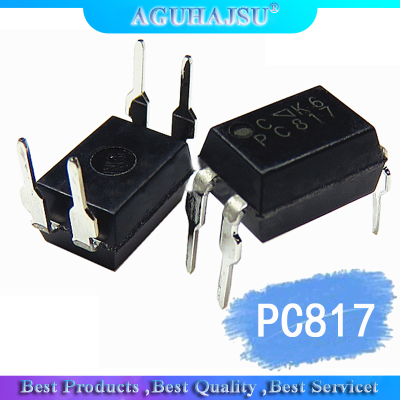 10pcs PC817 EL817 817 817C FL817C PS817C DIP4 Optocoupler 1