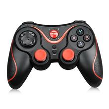Bluetooth Gamepad for Android Wireless Joystick Gaming Controller Black for Android Smartphone Android Tv Box s3 flydigi x9etpro bluetooth wireless game gaming controller gamepad for iphone for android aa battery control joystick