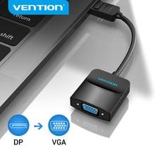 Vention Displayport VGA adaptörü 1080P Display Port erkek VGA dişi dönüştürücü projektör HDTV için monitör DP VGA adaptörü