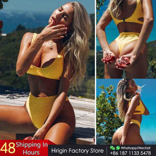 Womens bikini lady bra monokini swimsuit triangle swimwear summer padded push up