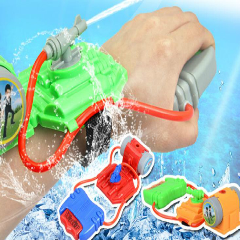 Water Gun Toys Summer Beach Water Toy Wrist Squirt Gun Children Gun Weapons