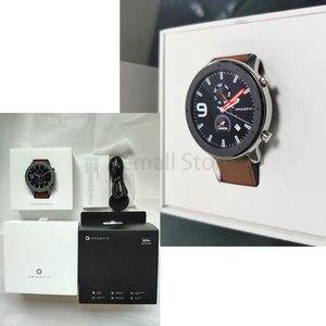 Image 5 - النسخة العالمية Amazfit GTR 47 مللي متر 47 مللي متر ساعة ذكية Huami Smartwatch 12 الرياضية طرق 5ATM للماء GPS 24 أيام البطارية AMOLE