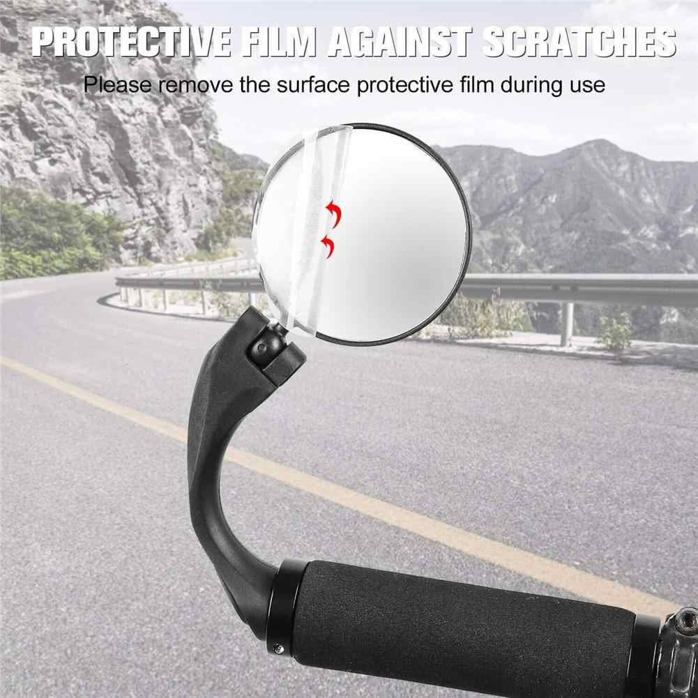 Specchietti Bici Specchietto Retrovisore 360 Gradi Regolabile Ruotabile Specchio Convesso Montato sul Manubrio per la Montagna Strada Bicicletta Ciclismo