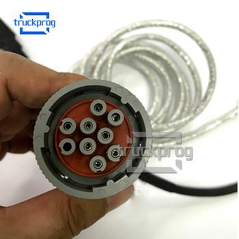 9 Pin Diagnostic Cable Insite inpower ATS Service Tool Diesel Truck Engine Diagnostic Tool Adapter Cable insite