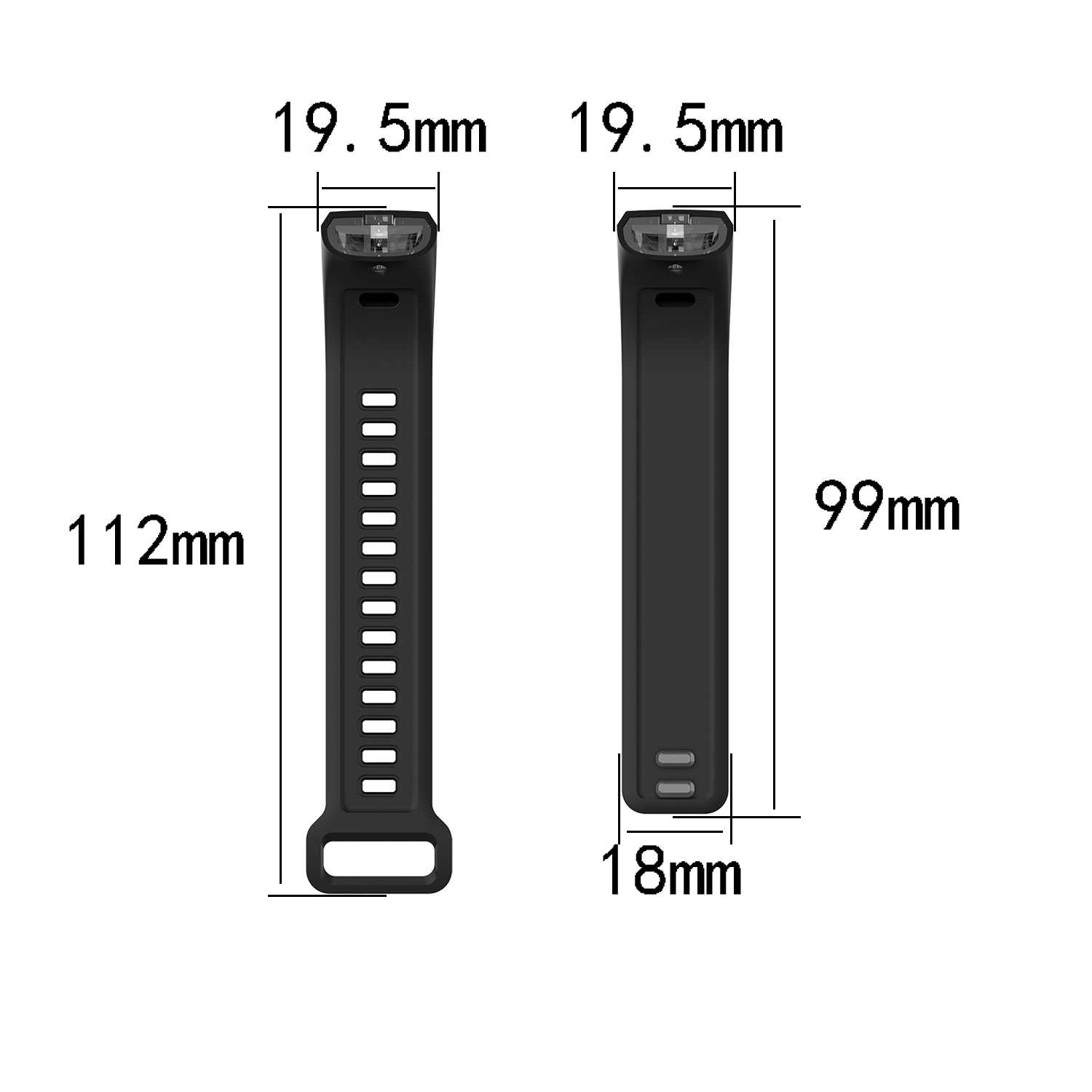 New Sport Watch Band for Huawei Sports Bracelet Band2 Pro/band2/ERS-B19/ERS-B29 Sports Rubber Strap Wristband Replacement