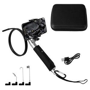 Image 5 - Портативный эндоскоп, 8 мм, 1080P, HD, Wi Fi, Водонепроницаемая беспроводная IP камера, USB эндоскоп для осмотра телефонов на Android с подарочной коробкой