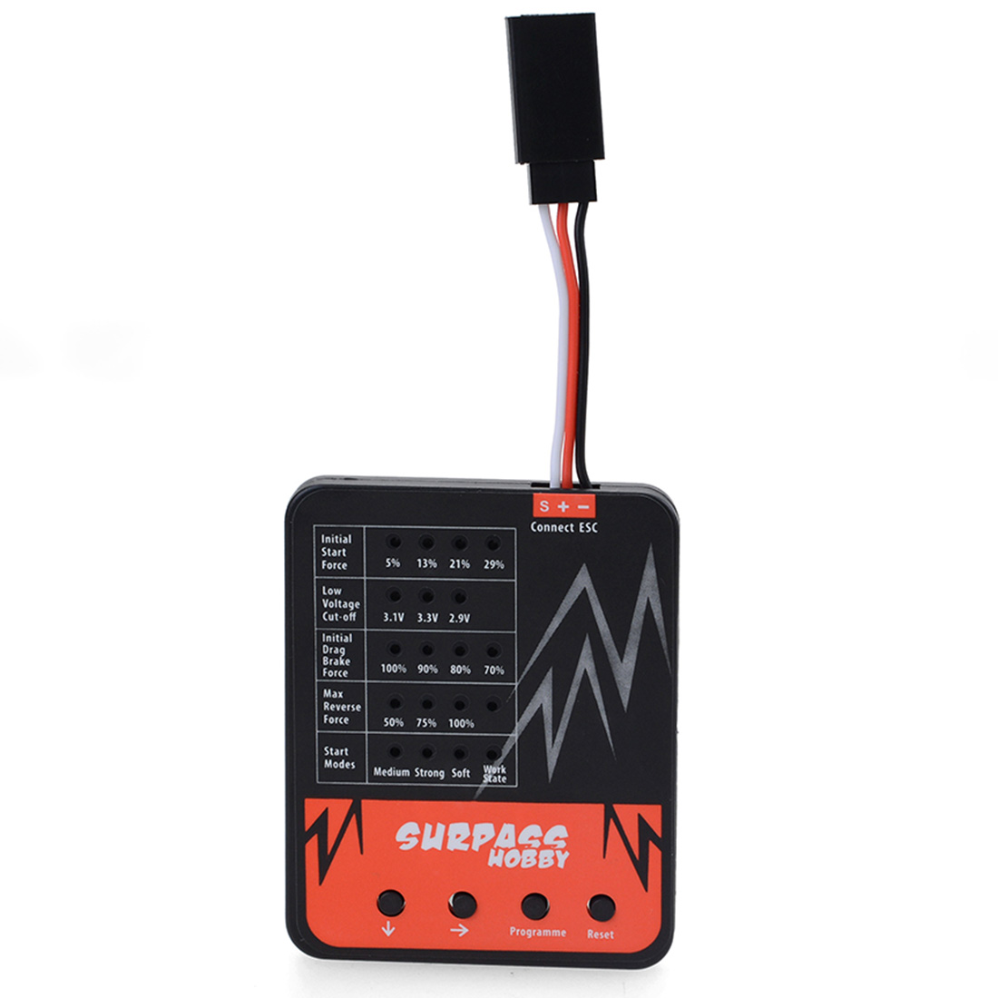 LED Programme Card For Climbing Car ESC  Programable Toys Accessories High Quality