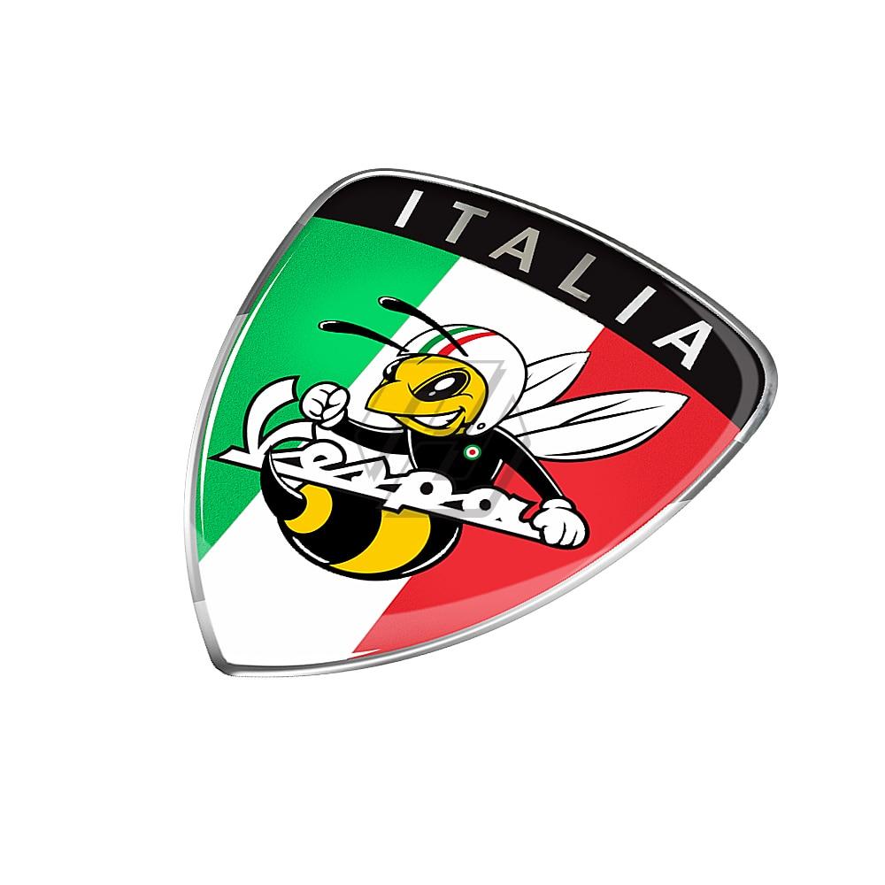 3D Motorcycle Sticker Italy Flag Decal Case For PIAGGIO Vespa GTS SPRINT PRIMAVERA LXV LX S GTV 125 250 300