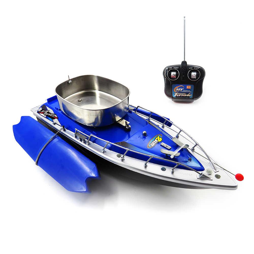 3 colores juguete buscador de peces Mini RC pesca aventura señuelo cebo barco Mini RC barco pesca cebo barco RC inalámbrico barco de pesca