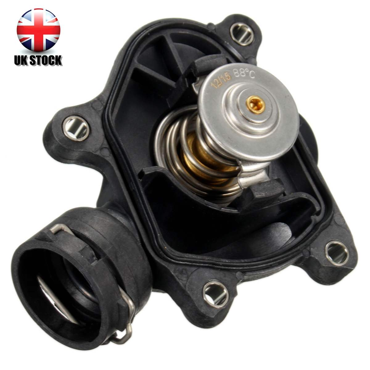 1pc Thermostat With Housing Coolant Opening Temperature 88 degree For BMW 11517787113 11517805811 11517789014 11517787052