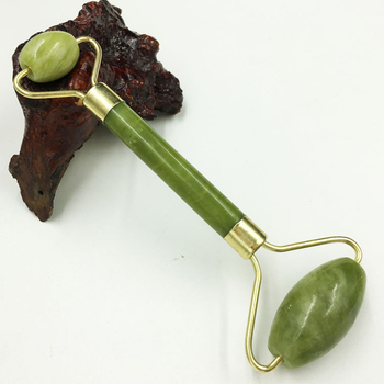 Natural Jade Massage Roller Guasha Board SPA Scraper Stone Facial Anti-wrinkle Treatment Body Facial Massager Health Care Tools image
