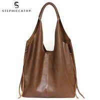 SC мягкая Роскошная Ретро сумка из коровьей кожи для женщин, сумка на плечо, сумка на молнии с вкладышем, винтажная Повседневная сумка для пок...