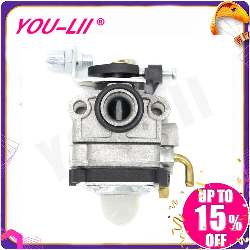 Carburetor Carb Fuel line For Troy-Bilt TB26TB