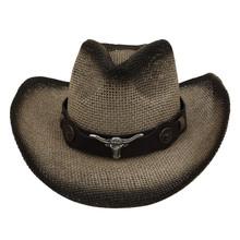 Unisex Erwachsene Western Cowboy Hut Männer Und Frauen Einfarbig Casual Hut Damen Sommer Strand Reise Hut Retro Cowboy Hut czapka 2020 cheap MUQGEW Stroh CN (Herkunft) Beiläufig Fest Cowboy Cap