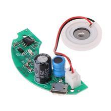 USB 미니 가습기 DIY 키트 안개 제조기 및 드라이버 회로 기판 안개 분무 필름 분무기 시트 미니 진동