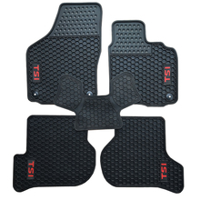цена на Custom Rubber Car Floor Mats for Volkswagen Golf Scirocco R 6 RHD Right Hand Drive with TSI ABT R Logo Waterproof Durable Carpet