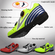 020 new mtb shoes men mountain bike shoes cycling bicycle sneakers professional self-locking breathable santic cycling mtb bike bicycle men shoes breathable mountain bike bicycle equipment self locking tpr pu shoes with free socks