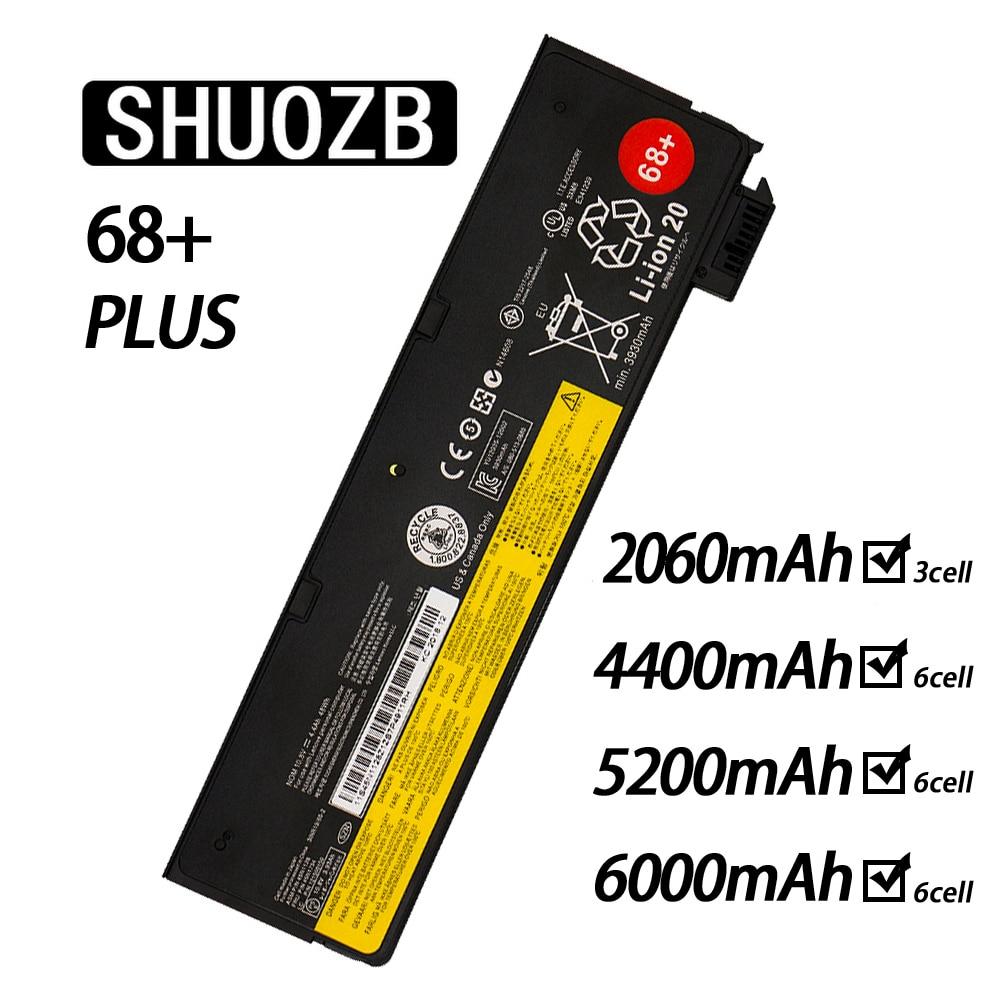X240 New Battery For Lenovo Thinkpad T440S X260 X250 X240S T450 T470P T450S X270 K2450 W550S 45N1136 45N1738 Batteries 68+