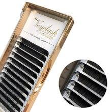 Viplash накладные ресницы из искусственной норки C D DD L, индивидуальные матовые ресницы для наращивания, русский объем, личная этикетка, инструменты для макияжа