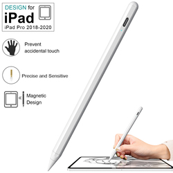 For iPad Pencil with Palm Rejection Active Stylus Pen for Apple Pencil 2 1 iPad Pro 11 12.9 2020 2019 2018 Air 4 7th 8th