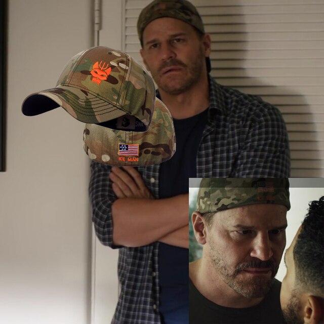 """TSNK casquette tactique en argile/Jason Hayes, """"équipe militaire de sceau"""", casquette militaire pour hommes et femmes, boîte en papier à rabat extensible"""