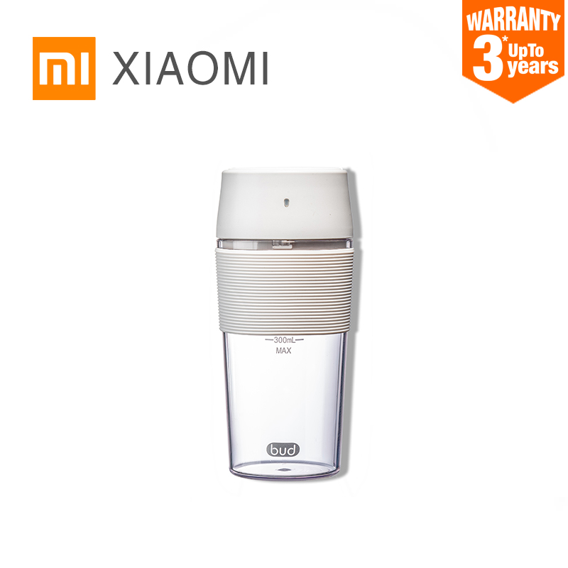 ! XIAOMI MIJIA Bud BR25E Blender Portable Fruit Cup Electric Kitchen Mixer Juicer food processor Machine 300ML Magnetic chargingBlenders   -