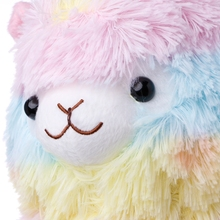 Rainbow Alpaca Plush Toy Lama Doll Cotton Stuffed Animal Toys