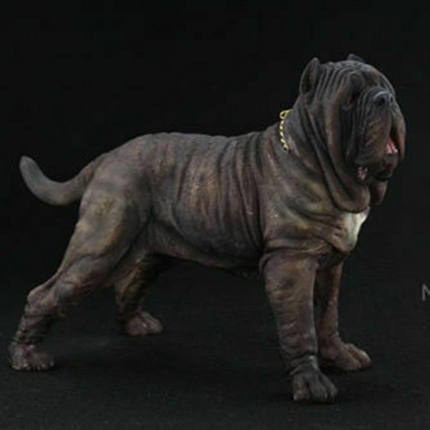 Mr. Z 1/6 échelle napolitain dogue chien Animal modèle Figure Statue Simulation Animal sauvage enfant jouets cadeau enfants Collection - 1