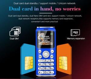 "Image 5 - Neueste SATREND K8 Mini Push Taste Handy Dual Sim 1,0 ""Hände Kleinste China Günstige Telefon Bluetooth Kamera MP3 Telefon"