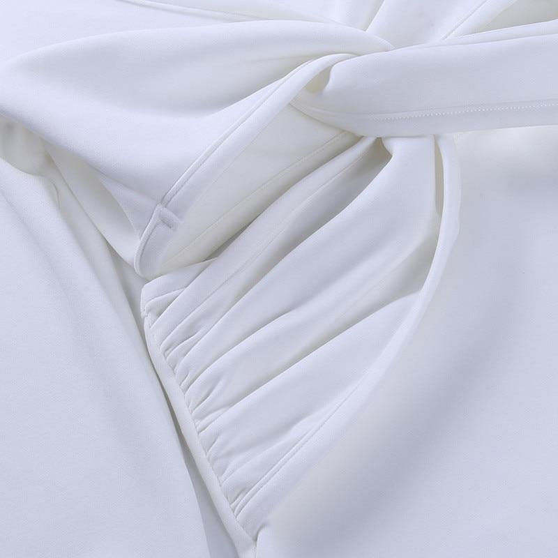 long sleeve white dress07