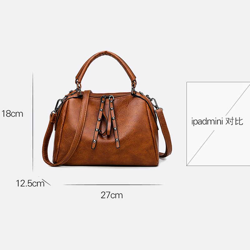 Deisgner сумки на молнии высокое качество сумки через плечо для женщин 2019 женская сумка через плечо винтажная кожаная женская сумка на плечо
