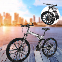 Foldable Ultra-lightweight Mountain Bike 4-variable Speeds Dual Brake Folding Bicycle For Student Man And Women Adult Bicycle