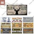 Декоративная пещера для маленького человека Putuo, деревянные подвесные знаки, забавный деревянный знак Предупреждение, мужская пещера, дома...