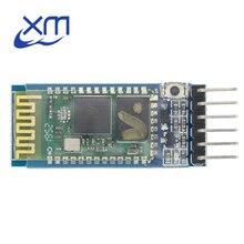 20 шт./лот анти обратный Bluetooth серийный сквозной модуль, беспроводной Серийный, HC 05, мастер раб 6pin H35