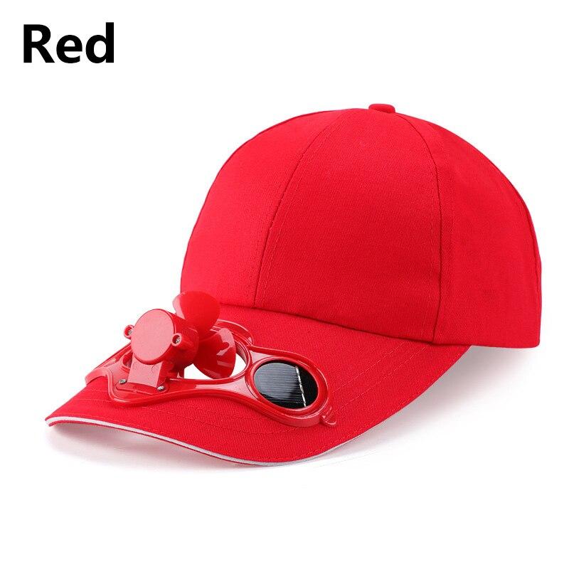 Solar Fan Baseball Cap