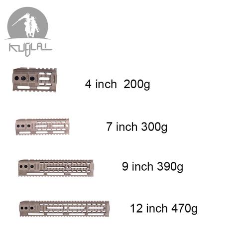 gel blaster sistema ferroviario handguard