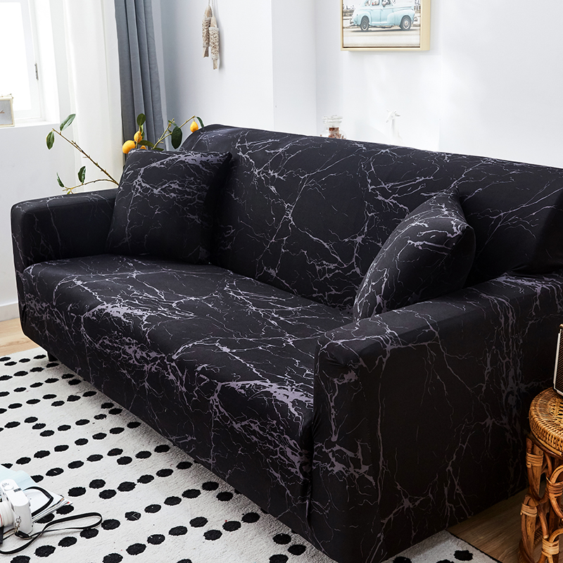 New Color Geometric Sofa Cover Spandex For Living Room Elastic Material Double Seat Sofa Sofa Chair Covers Couch Covers