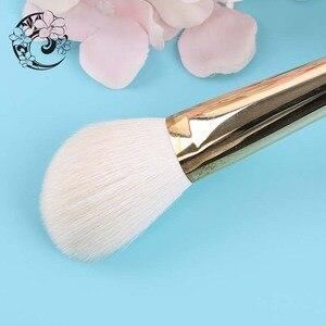 Image 5 - Контурная кисть из козьего волоса, косметические кисти для макияжа Pinceaux Maquillage Brochas Maquillajes S106W