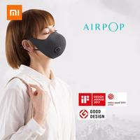 Xiaomi mijia airpop ar wear pm0.3/pm2.5 anti haze máscara facial com 2 pces filtro ajustável orelha pendurado máscaras faciais confortáveis|Controle remoto inteligente| |  -