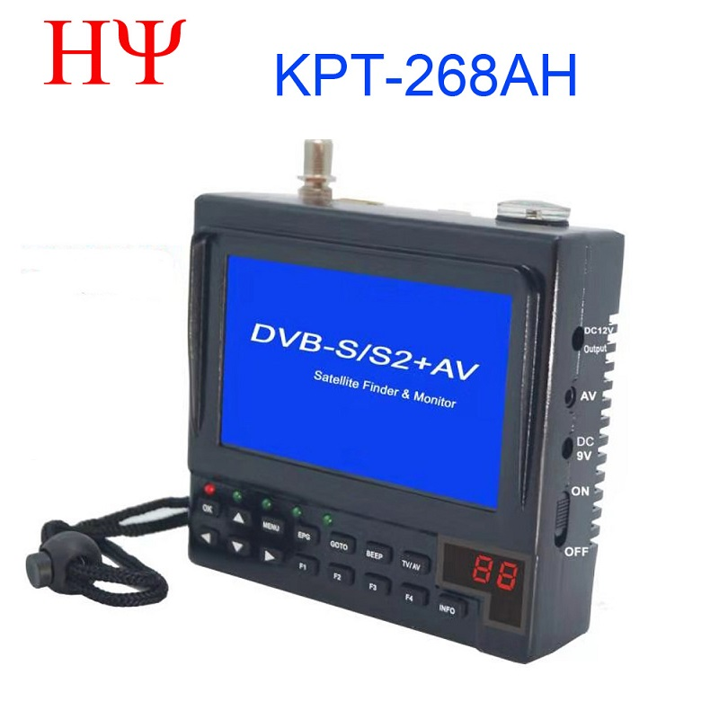KPT-268AH DVB-S2 Satfinder Full HD Digital Satellite TV Receiver Finder Meter MPEG-4 DVB-S Sat Finder  KPT 356H SATLINK WS-6933