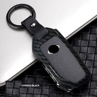 Carbon fiber Alloy Car Key Cover Shell Holder For KIA Sportage 2018 Smart Remout Key Case Accessories car styling|Key Case for Car| |  -