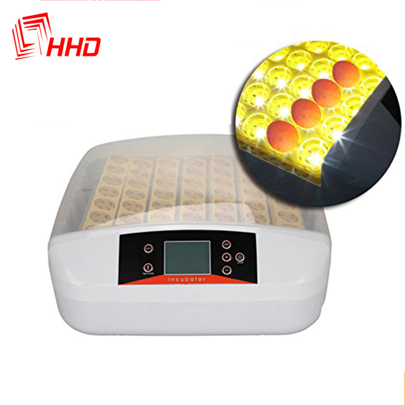 110V 220V China YZ 56S Eggtester Hatchery Machine LED Screen Chicken Incubator Egg Full Automatic Hatcher Auto Turning for SALE|automatic chicken|for